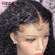 Derin dalga peruk dantel ön İnsan saçı peruk brezilyalı Remy 180 dantel ön peruk 360frontal 30 inç 13x6 derin dalga kıvırcık insan saçı İnsan saçı peruk