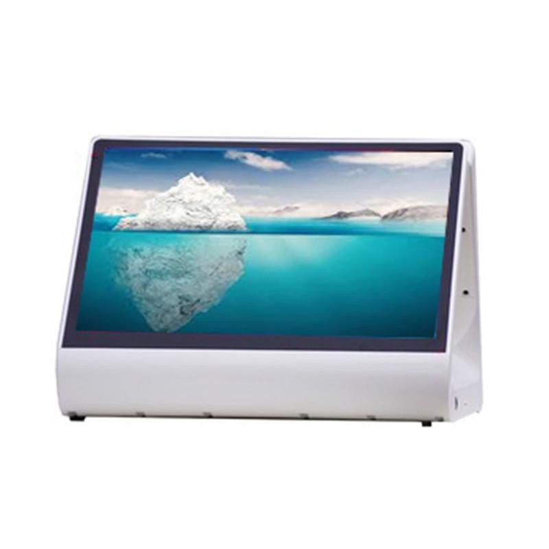 Китай 12 дюймов двойной сенсорный экран pos все в одной точке продажи системы для кофейни белый