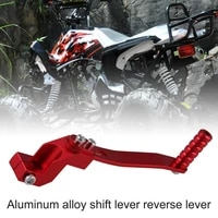 70 dropshippinguniversal gear lever aluminum alloy gear lever folding type suitable for 110cc 125cc atv motorcycle