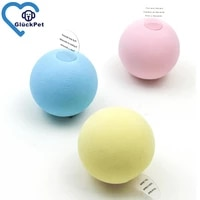 kitten catnip toy balls with refillable catnip squeaky ball toy for cat exercisecat toy ball interactive cat toy