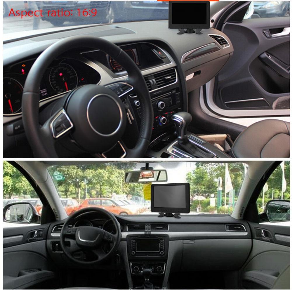 "Hot 7"" TFT LCD Monitor Display 1024*600 VGA AV YUV Audio Video for PC DVD TV CCTV Monitors Car Monitor For BMW VW Audi Toyota"