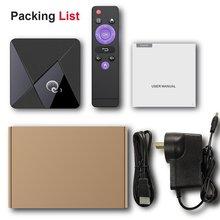 Smart Wireless TV Box 4K High Definition Media Player 1G+8G Wifi Set-Top Box Voice Assistant Box HDT