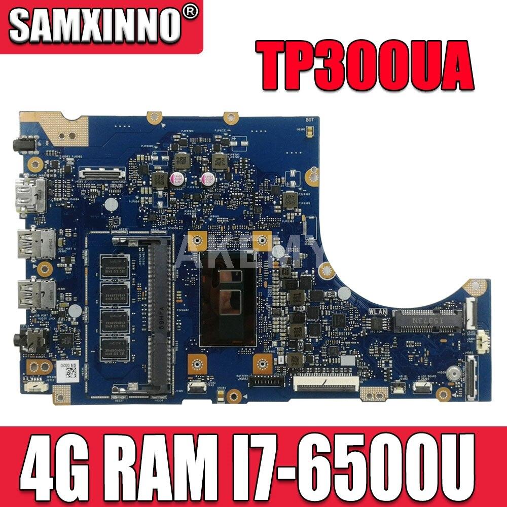 TP300UA Q302UA اللوحة لابتوب ASUS Q302U Q302UA TP300U TP300UA TP300U اللوحة 4G RAM I7-6500U CPU 100% اختبار