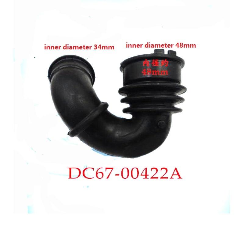DC67-00422A غسالة أجزاء المطاط استنزاف الأنابيب wf1124 0804 1804wpy0904wd8754