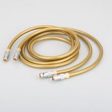 Hifi Cardas audio kabel Cardas HEXLINK GOLDENE 5C audio kabel Verstärker CD DVD player Lautsprecher Nakamichi RCA interconnect kabel