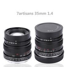 7artisans 35mm F1.4 Full Frame Lens for Sony E Mount A7 A7 A7R A7RII A7S A7SII A6500 A6300 A6000 A5100 A5000 NEX-3N NEX-3 R
