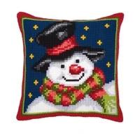 latch hook kits pillow diy handmade snowman printed canvas cushion latch hook kits diy unfinished accessories