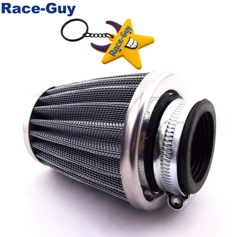 35mm Luftfilter Stahl Reiniger Für 50cc 70cc 90cc 110cc Pit Dirt Bike ATV Quad Go Kart Buggy Motorrad motocross