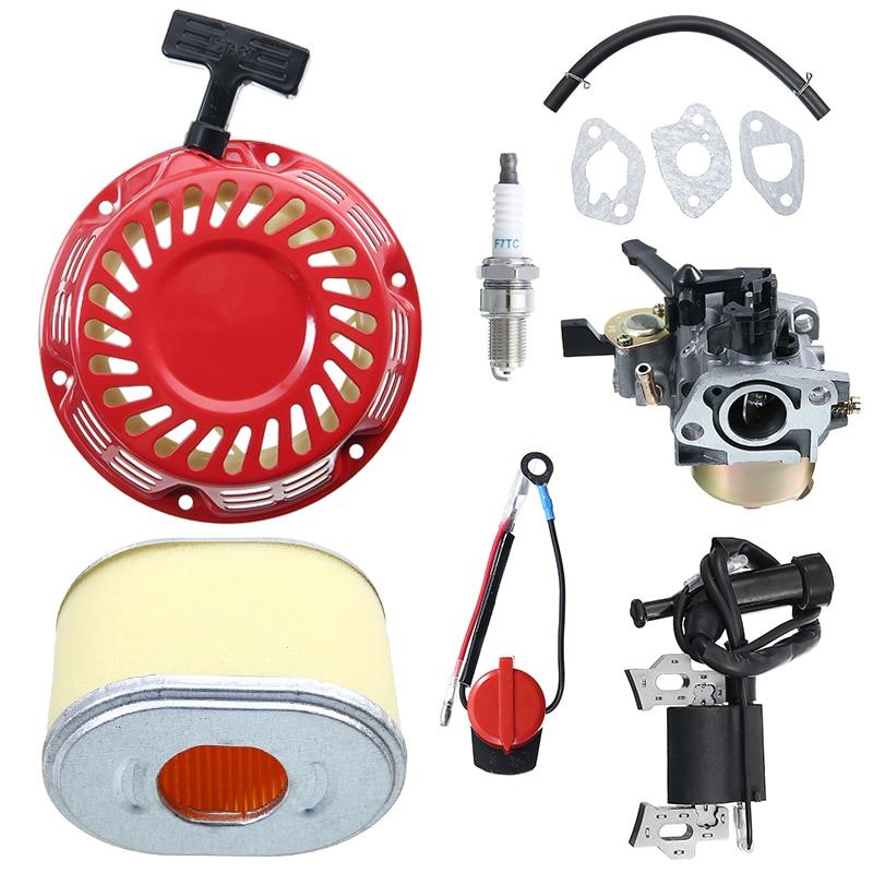 Coil Honda GX140 Service Kit Carburetor Plug Ignition Gaskets For GX160 GX200 Tool Parts Durable