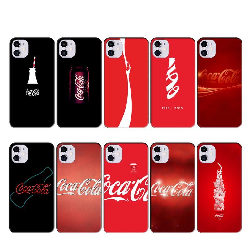 LouisY famoso coca Cola suave cubierta de la caja del teléfono para iphone 11 PRO MAX X XS X XR 4S 5S 6S 6 7 8 PLUS SE 2020 cubierta