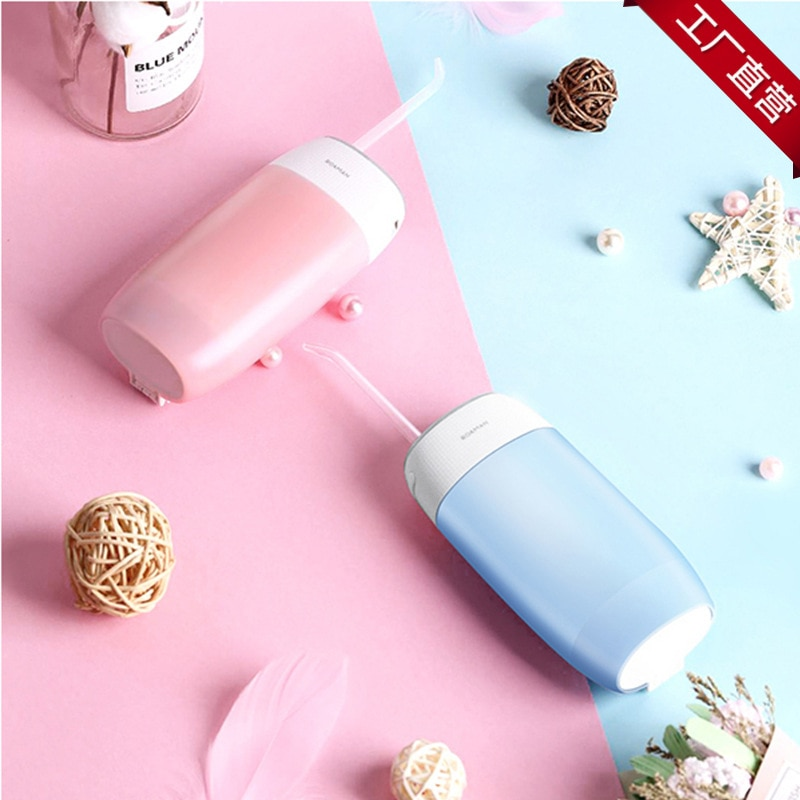 Roaman mini portátil casa máquina de lavar dental floss dental elétrica dental cleaner