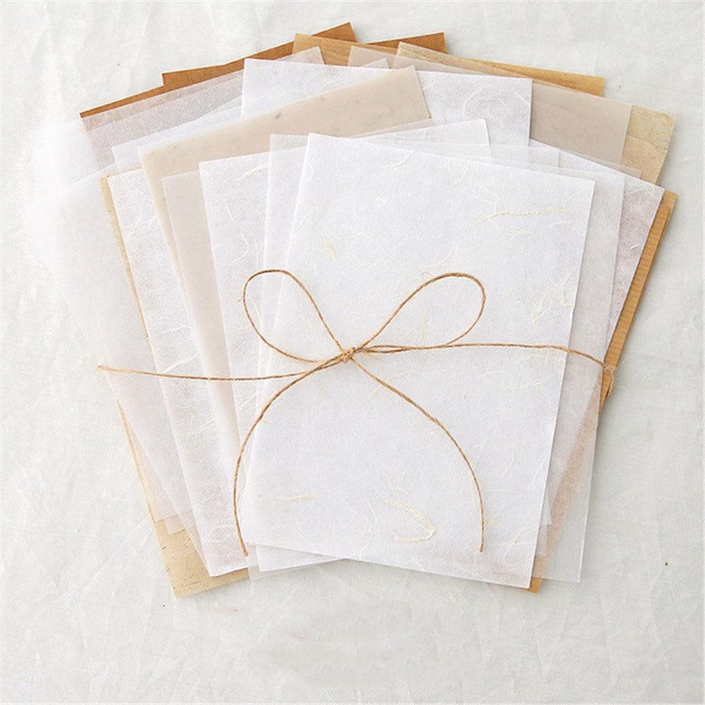 Винтажная оберточная бумага «сделай сам» 30 шт., материалы для скрапбукинга Цветочная Крафтовая бумага для печати счетов, коллаж, Смешанная ...