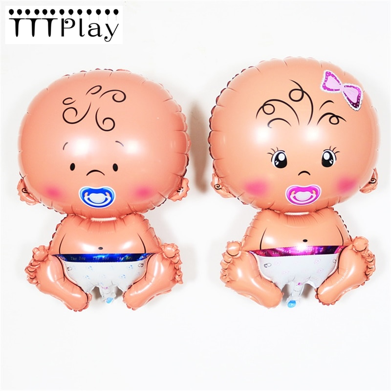 Baby Shower Its A Girl Its A Boy Party Decoration Helium Foil Balloons Gender Reveal Birthday Party Decorations Kids Supplies baby shower balloons blue pink boy girl foil ballons kids gender reveal first 1st birthday party kids party decorations supplies