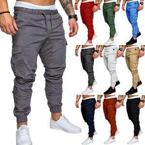 Casual Fashion Men's Sports Pants Gym Jogging Running Cycling Pants Loose Athletic Wear Training Pants Trousers Sportswear