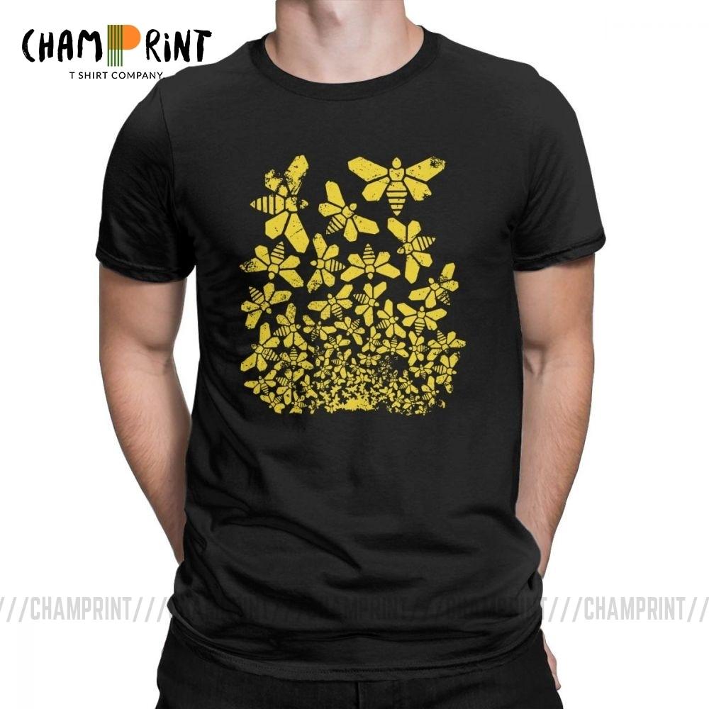 Camiseta Breaking Escher para hombre, camiseta Breaking Bad Golden Moth Heisenberg, divertida Camiseta de algodón de manga corta con cuello redondo, camiseta de talla grande