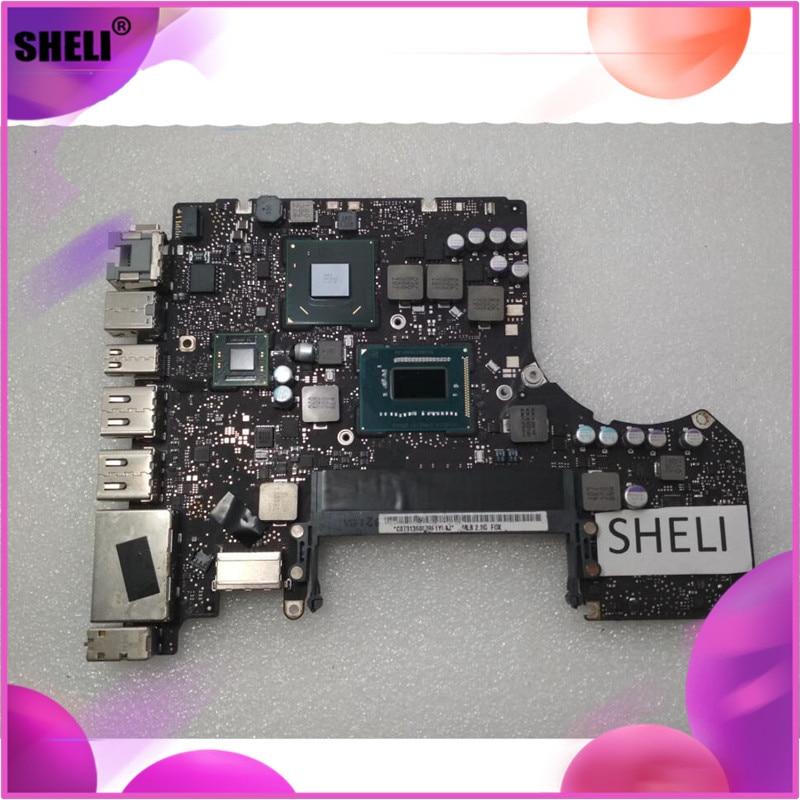 "Logic main Board Für Macbook Pro 13 13 ""A1278 laptop Motherboard notebook pc 2,5 GHz Core I5-3210M 2012 820-3115-B SR0N0 I5 2,5G"