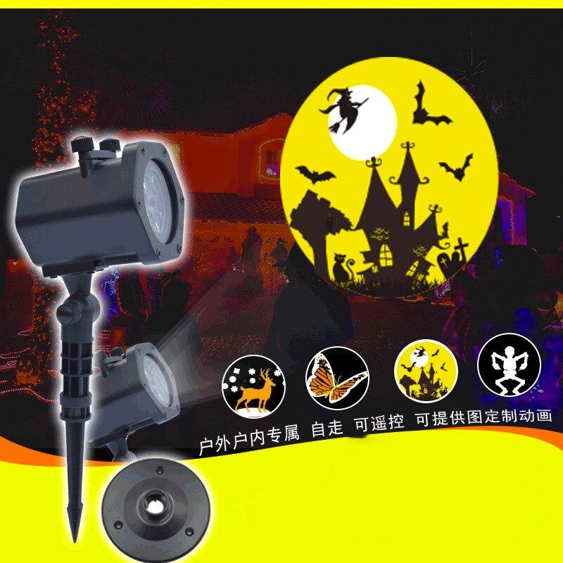 Новый проектор для вечеринок, светодиодные лампы для комнаты, различные карты, узор, проектор, Рождественские огни, Galaxy проектор
