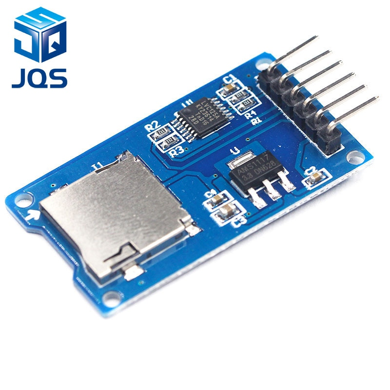 Tarjeta de expansión de almacenamiento Micro SD, tarjeta Micro SD TF, módulo de protección de memoria SPI para promoción Arduino