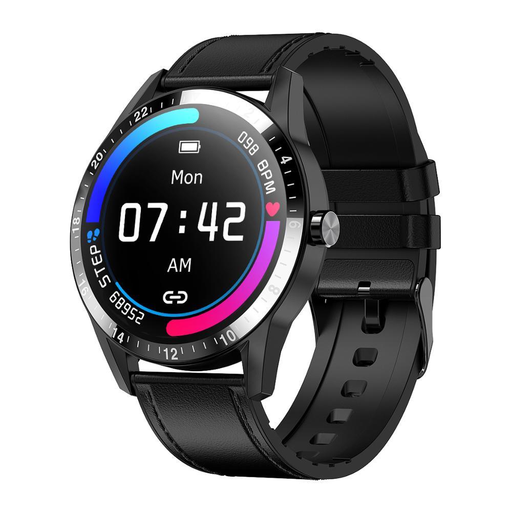 Reloj inteligente Bluetooth call G20 para mujer y hombre, monitor de ritmo cardíaco y presión arterial, rastreador de actividad física, reloj deportivo para Android iOS
