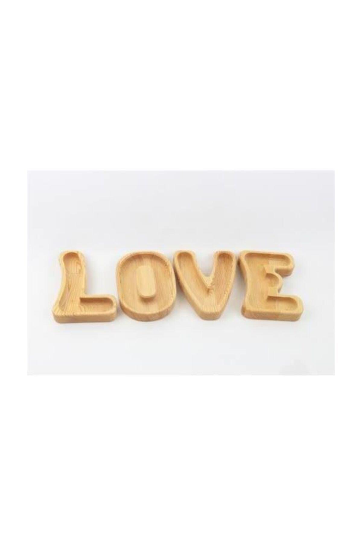 На завтрак-кондитерские изделия-Бамбук-в комплекте буквы любви.