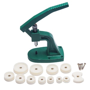 Watchmaker Tool Watch Press Set Back Case Closer with 12pcs Fitting Dies