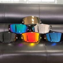 Motorcycle Full Face Helmet Visor Lens Fit To X14 X-14 Z7 CWR-1 NXR RF-1200 X-Spirit 3  X-Fourteen  Visor Mask Accessories Parts