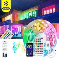 led strip lights rgb bluetooth 10m 30m 5050 waterproof led light for room 10m 5m flexible lamp ribbon smd rgb tape diode luces