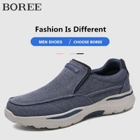 mens casual shoes canvas breathable slip on shoes men loafers comfort outdoor walking sneakers for men shoes footwear big size
