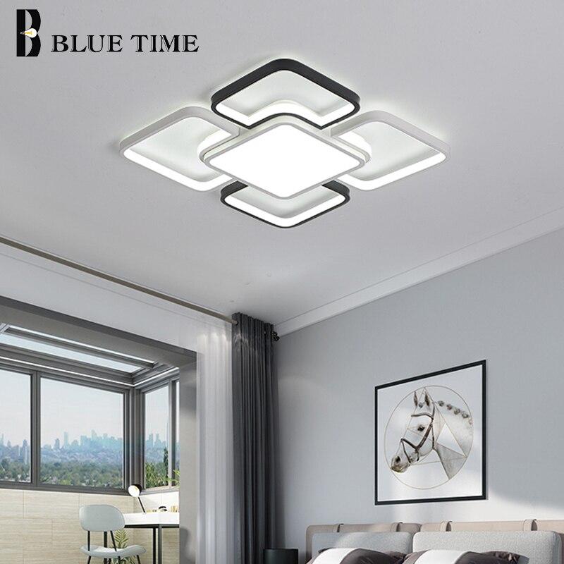 Современные светодиодные потолочные светильники, акриловые лампы с утопленным креплением для спальни, гостиной, столовой, кухни, комнатные...