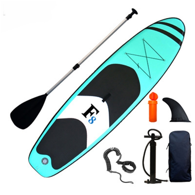 New Mint Green Water Adult Inflatable Standing Board Paddle Board Inflatable Surfboard