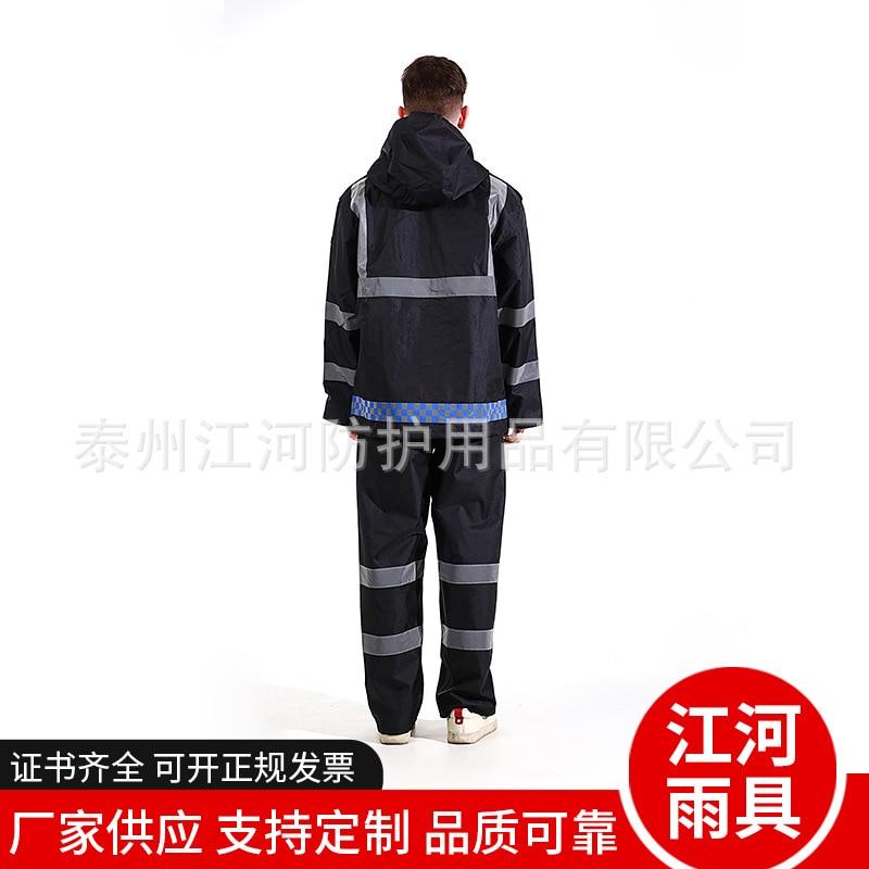 Motorcycle Large Raincoat Men Foldable Suit Poncho Outdoor Raincoat Men Waterproof Polyester Boy Regenjacke Rain Gear AG50YY enlarge