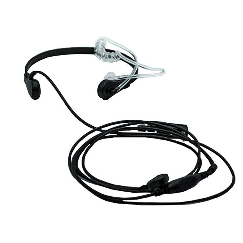 Tk garganta fone de ouvido para baofeng UV-5R 5ra/b/c/d/e UV-3R