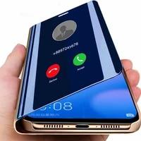 smart mirror flip case for xiaomi 11 10t 10 9t 9 8 pro lite poco x3 nfc f2 pro poco f2 pro poco m3 poco m2 a3 lite cc9 cc9e 5a