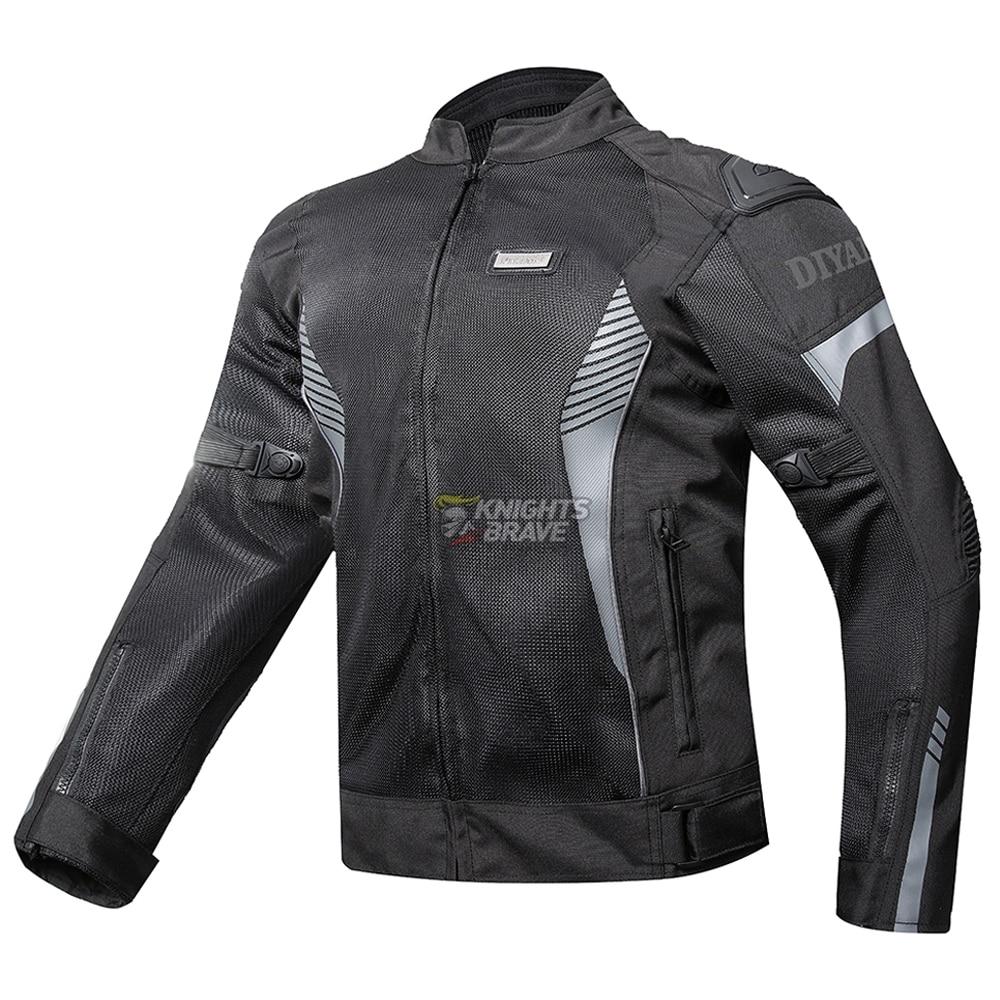 DIYAMO Motorcycle Jacket Summer Breathable Mesh Jaqueta Motociclista Chaqueta Moto Protective Gear Motorbike Motorcross Clothing