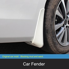 QHCP Car Mud Flap Splash Guards Mudguard Mud Flaps Front Rear Fenders Plastic 4Pc For Lexus ES200 26