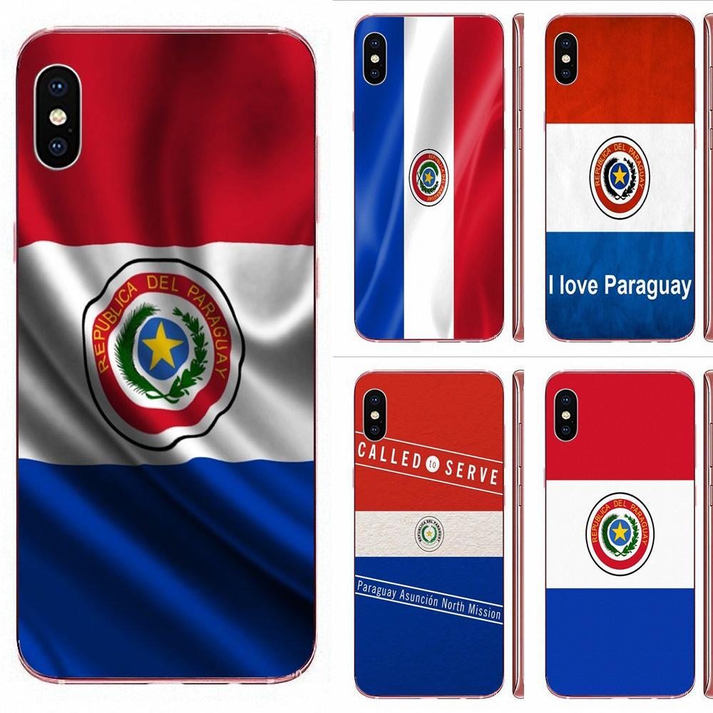 Paraguai bandeira macio capa de telefone para samsung galaxy note 8 9 10 pro s4 s5 s6 s7 s8 s9 s10 s11 s11e s20 borda mais ultra