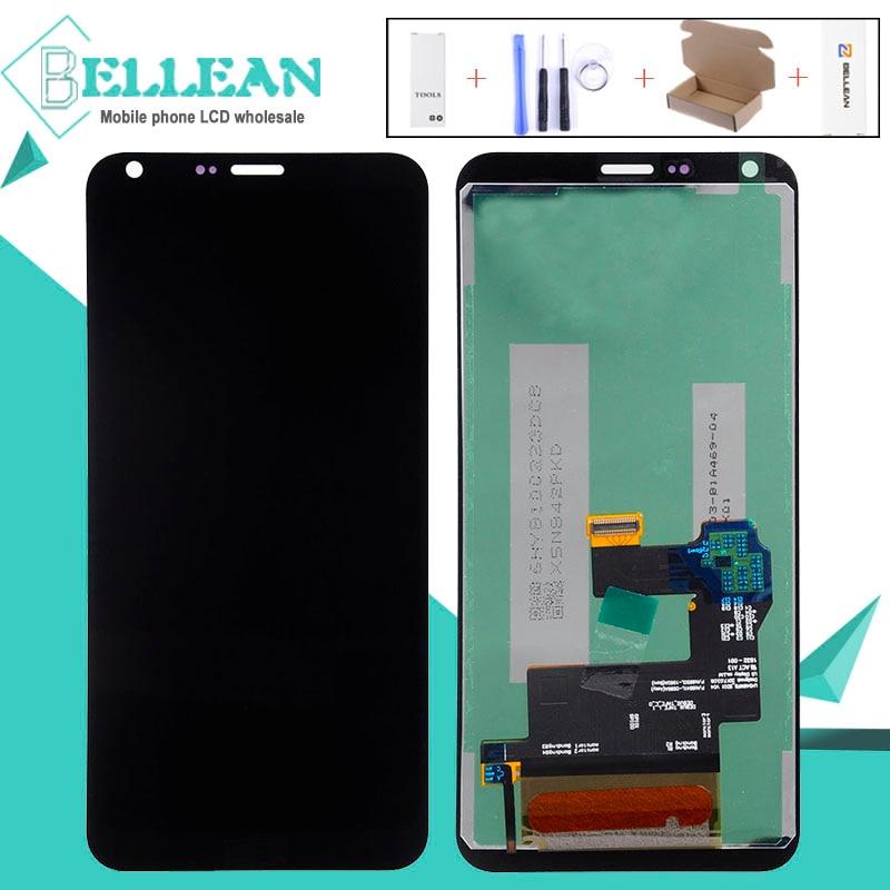 Catteny promoción Q6 Lcd para LG M700 Lcd MONTAJE DE digitalizador con pantalla táctil M700A US700 M700H M703 M700Y Q6A con marco