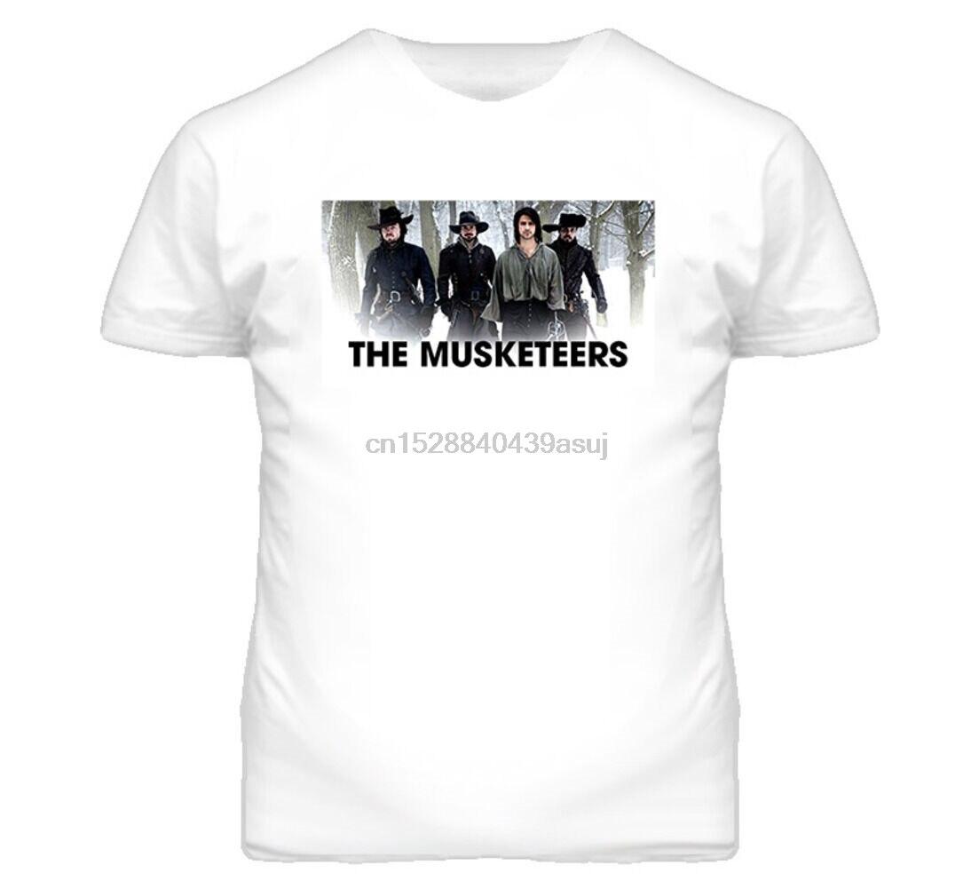 Tom Burke Santiago Cabrera Luke Pasqualino Howard Charles The Musketeers T Shirt