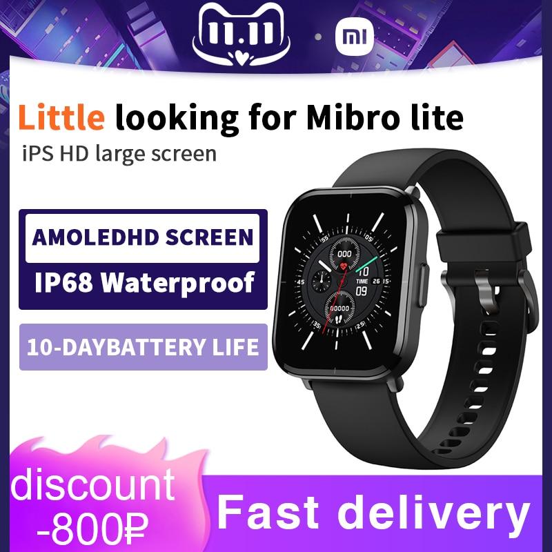 شاومي النسخة العالمية Smartwatch اللون ساعة ذكية 5ATM مقاوم للماء رصد معدل ضربات القلب 270mAh بطارية ل أندرويد IOS Smartwatch