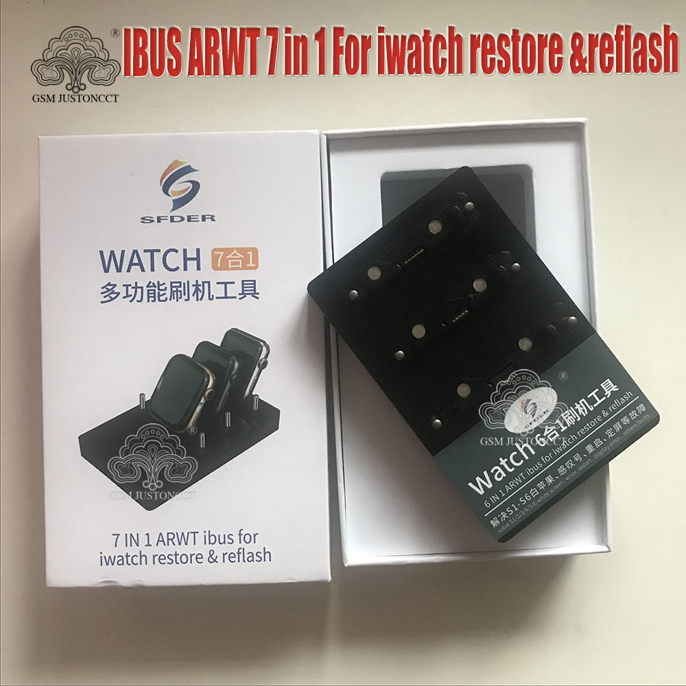 AWRT iBus Adapter Restore Tool For iWatch S1 S2 S3 S4 S5 S6 Recovery Restore Box iwatch Upgrade Repair tool enlarge