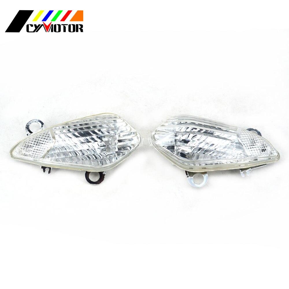 Vuelta de la motocicleta indicador de la luz de señal de tapa de lente para HONDA CBR1000RR CBR 1000RR 08 09 10 11 12 13 VFR1200 VFR 1200 de 2012 a 2013