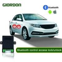 PKE keyless כניסת בקרת את המכונית על ידי נייד טלפון עם הפעלה מרחוק bluetooth שליטה קרוב מנעול/ להשאיר את מנעול 686W