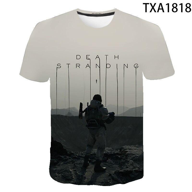 Camiseta con estampado 3D de la MUERTE trenzado para hombres y mujeres...