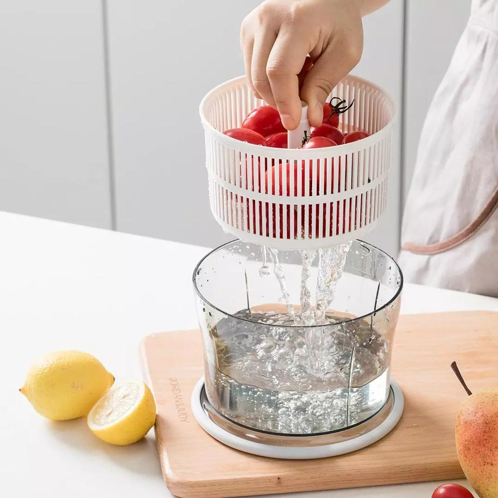 Youpin Kitchen Meat Grinder Convenience Manual Food Mincer Press Type Vegetable Mixer Fruit Blender Chop Herbs Gourmet Tools