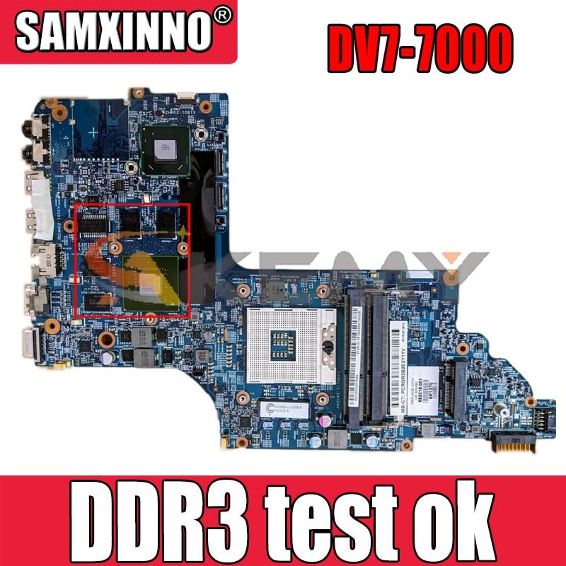 ل HP ENVY DV7-7000 711509-501 N13P-GLR-A1 SLJ8C DDR3 دفتر اللوحة الأم اختبار كامل 100% العمل