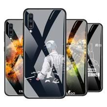 Counter Strike CS GO PUBG Tempered Glass Phone Case for Samsung Galaxy A51 A71 A81 A91 A10 A20 A30 A40 A50 A70 A01 M31 Cover