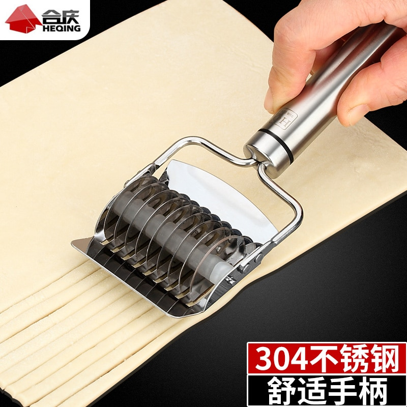 Prensa Manual de Fabricante de fideos de acero inoxidable, suministros de Pasta,...