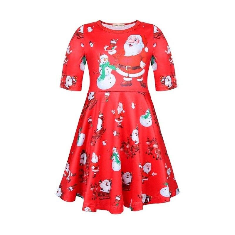 Nuevo Vestido de Navidad para niña, Vestido de Navidad para adolescentes, niños,...
