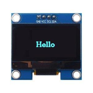 1.3 inch OLED module White/Blue IIC I2C Communicate color 128X64 1.3