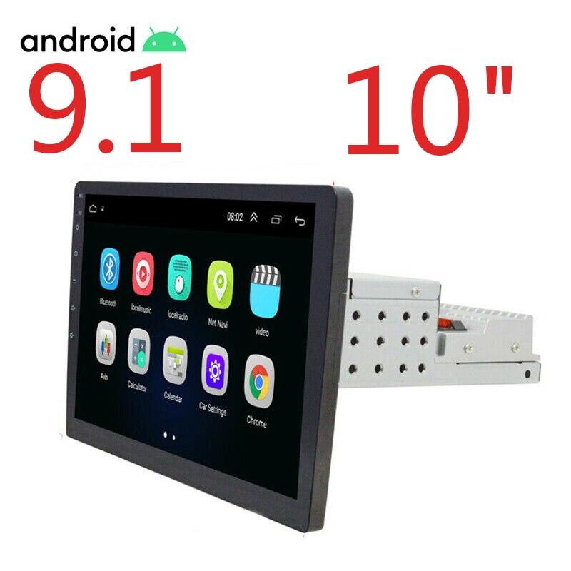 2+32G Android 9.1 1din 10.1 Inch Car Multimedia 1 din Auto Radio Gps FM USB One Din Autoradio Car Stereo Universal